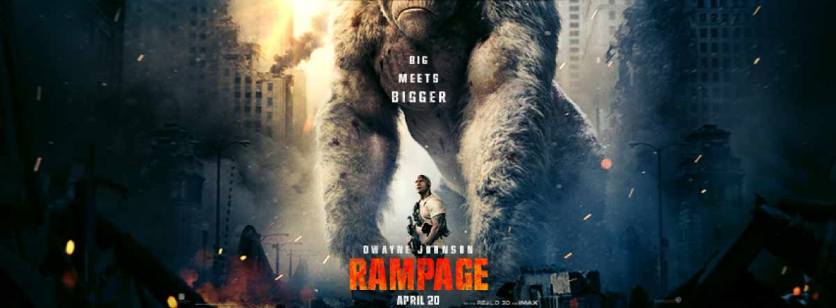 Rampage Movie Cast Release Date Trailer Posters