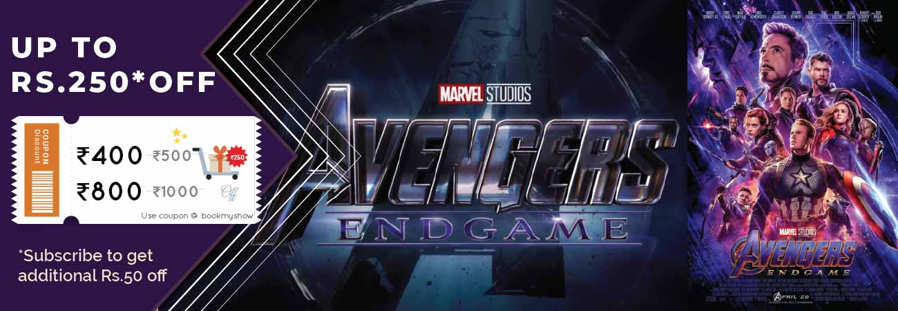 Avengers End Game Movie Ticket Offer