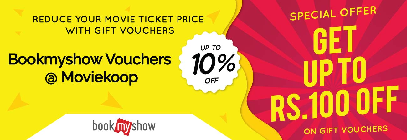 Bookmyshow Voucher at 10% off at Moviekoop.