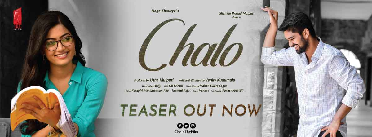 Chalo Movie Cast Release Date Trailer Posters Reviews News