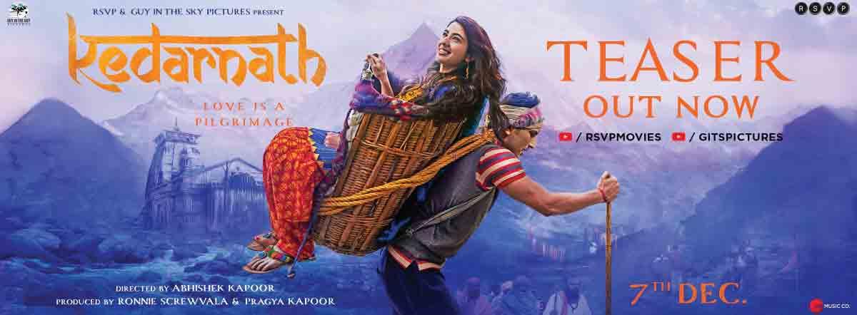 KEDARNATH (2018) con SARA ALI KHAN + Jukebox + Sub. Español + Online Kedarnath-hindi-movie