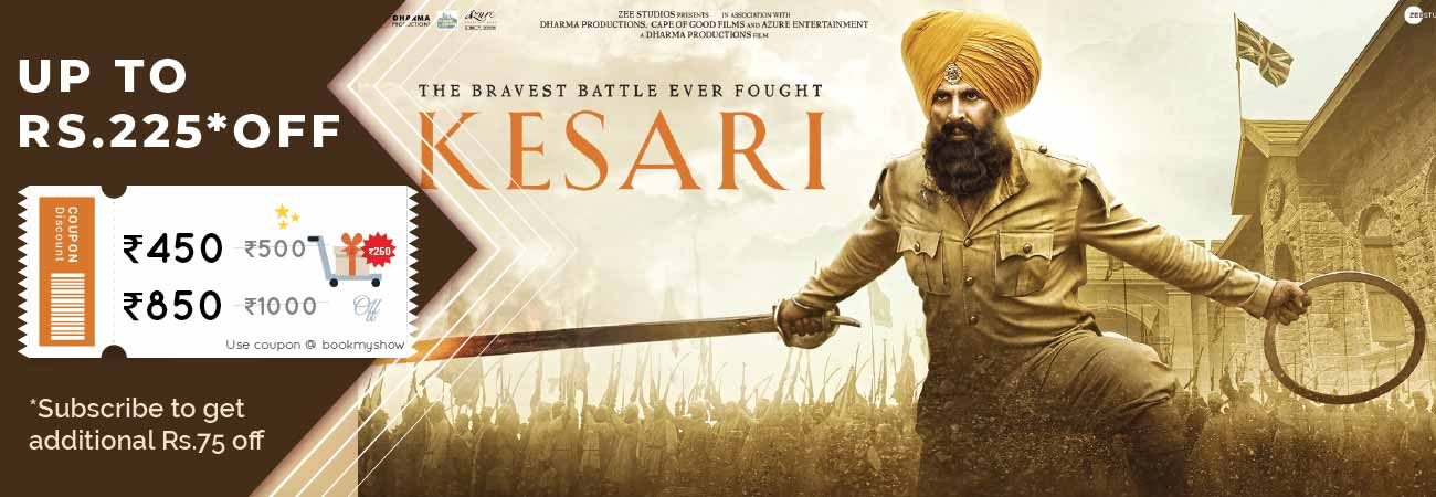 Kesari Movie Ticket Offer