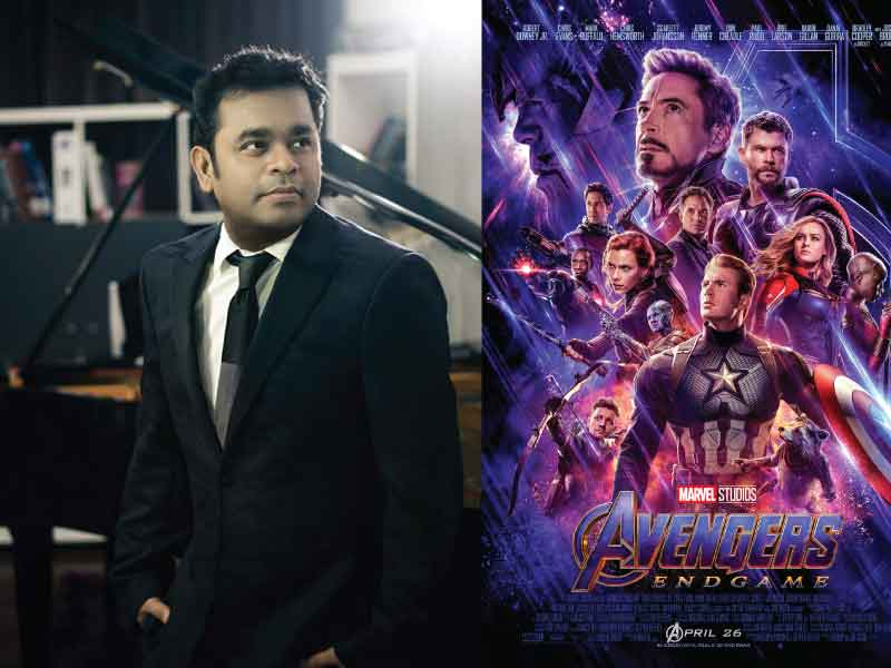 A R Rahman to compose special song for Avengers Endgame.