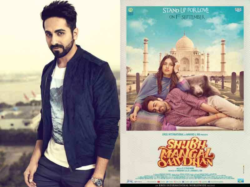 Ayushmann Khurrana to play a gay character in the upcoming film 'Shubh Mangal Zyada Savdhan'.