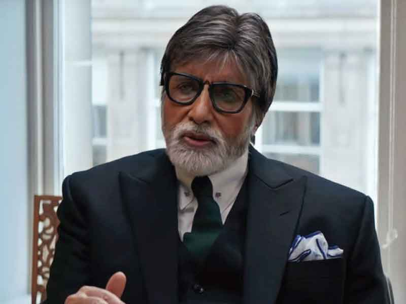 Amitabh Bachchan recites the poem 'Gudiya' written by his father for 'Badla'.