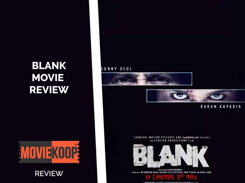 Blank review: The film justifies its title.