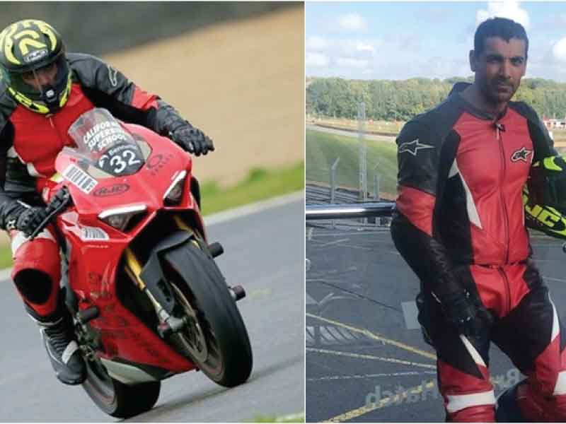 John Abraham will be a Biker in his next production venture.