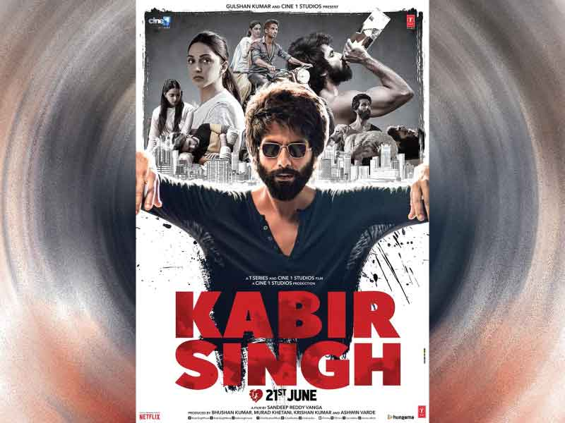 'Kabir Singh' New Poster: Shahid Kapoor in a 'Bad Boy' avatar.