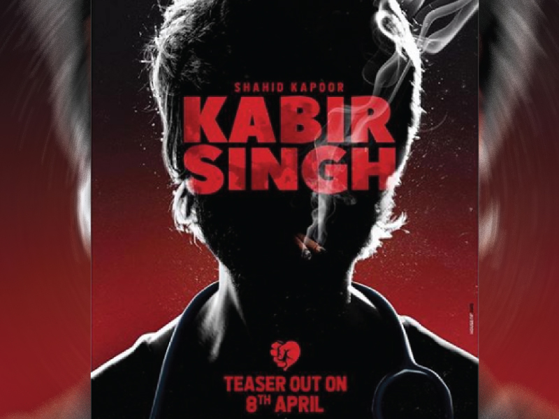 'Kabir Singh' Teaser: Shahid Kapoor is self-destructive obsessed lover.