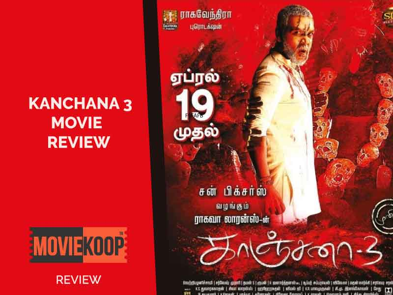 Kanchana 3 Review: Same story, same stale comedy, same jump scares with different kind of cringe.