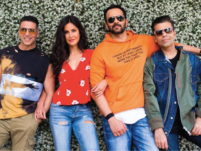 Katrina Kaif is pairing up again with Akshay Kumar in 'Sooryavanshi'.
