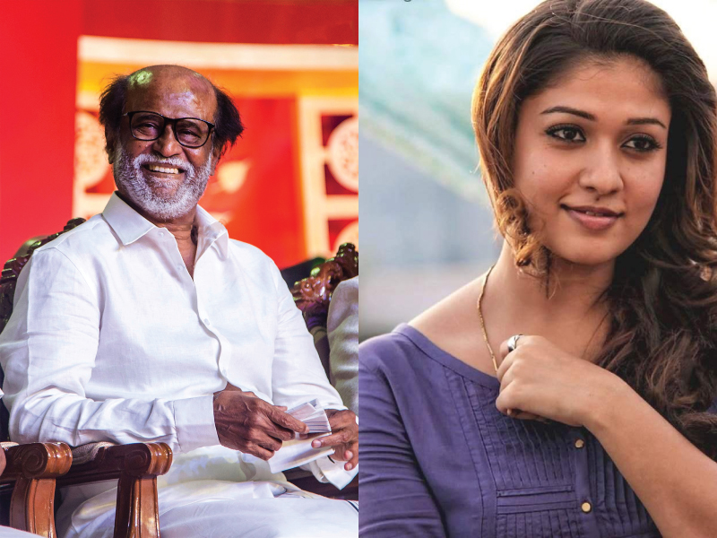 Rajinikanth and Nayantara to reunite in AR Murugadoss's next.