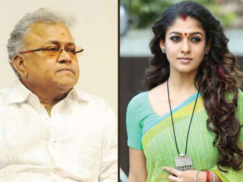 'Airaa' producers vow not to cast Radha Ravi in films after his derogatory remarks on Nayanthara.