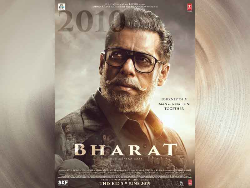 Bharat First Look: Salman Khan in salt-pepper look in the upcoming film.