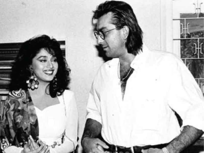 Madhuri Dixit and Sanjay Dutt spoke about working together after 26 years