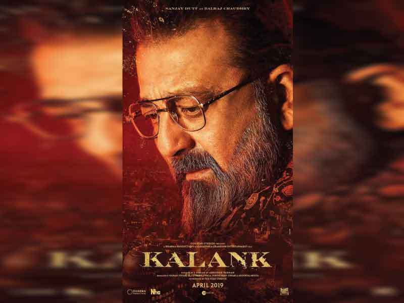 Sanjay Dutt is Balraj Chaudhry with a Salt-Pepper beard look in 'Kalank'
