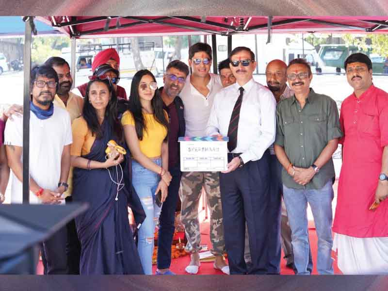 Siddharth Malhotra starring 'Shershah' shooting commenced today.