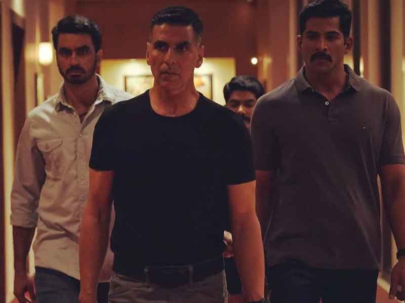 'Sooryavanshi' first look: Tough cop Akshay Kumar with his Anti-Terrorist squad.