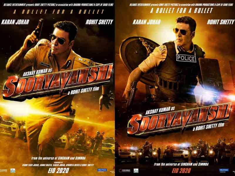 Sooryavanshi first look: Akshay Kumar in No-Nonsense Cop Avatar