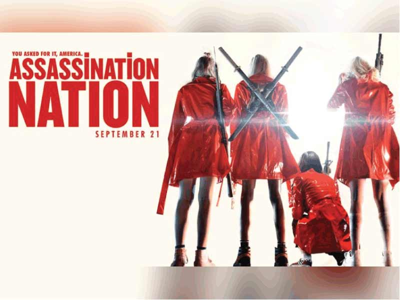 Assassination Nation Trailer Decode: No privacy exists