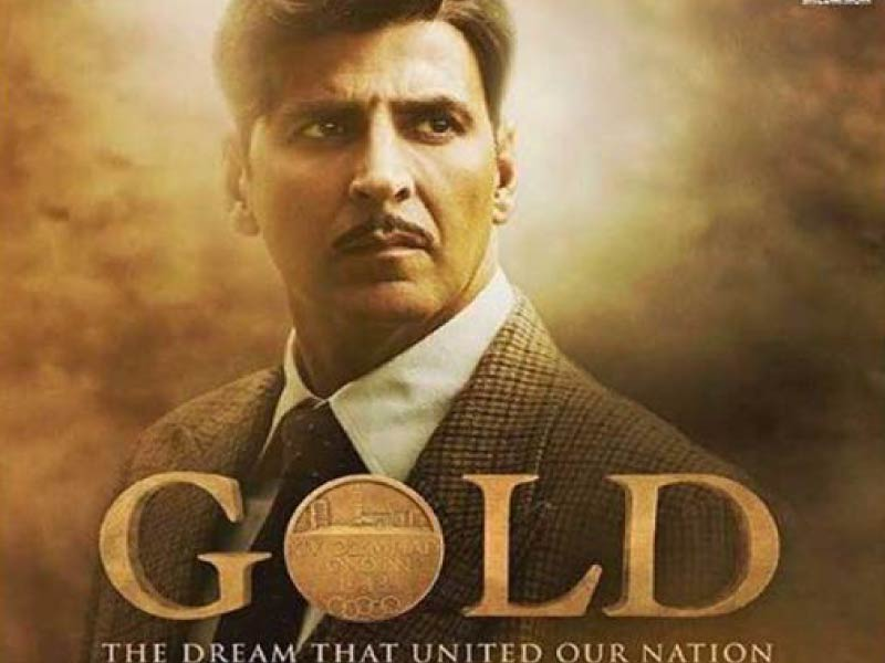 "New poster for ""GOLD"""