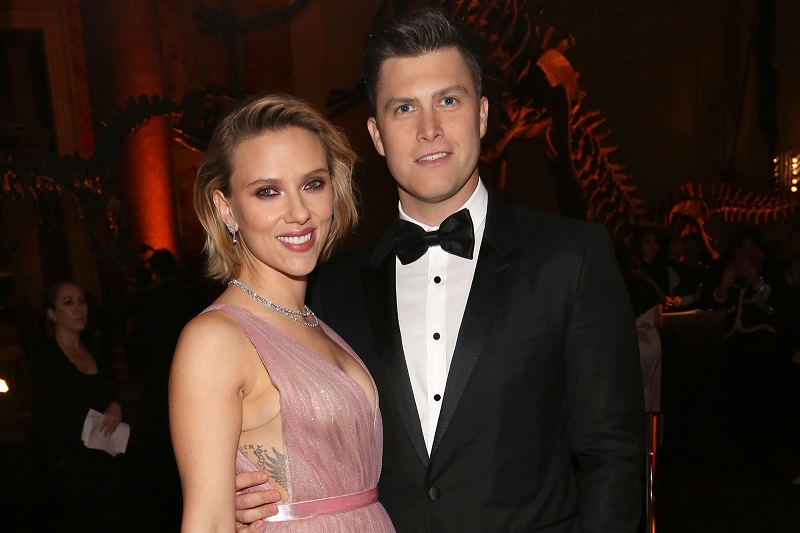 Wedding bells in tow for Marvel's Black Widow Actress, Scarlett Johansson and SNL's Colin Jost