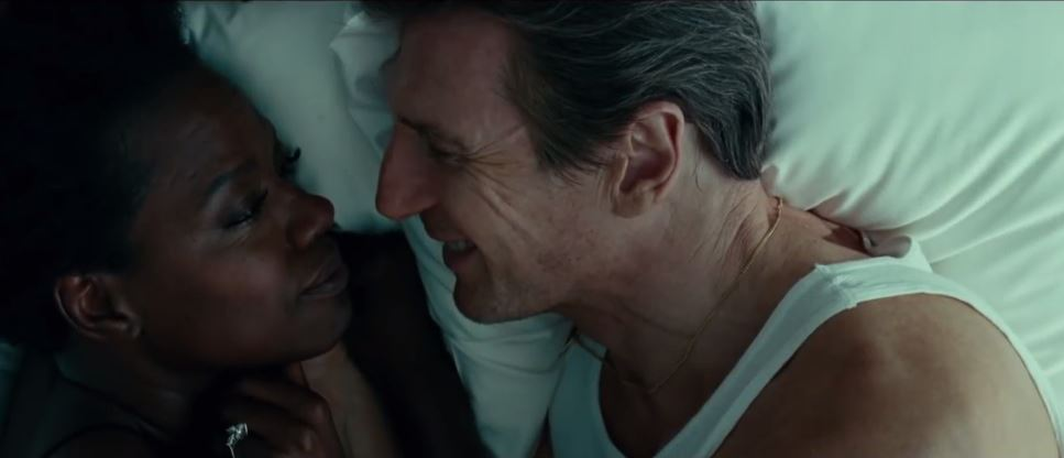 Liam Neeson with Viola Davis