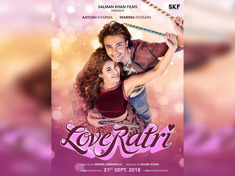 """LOVERATRI"": trailer decode, making audiences fall in love with the movie already"