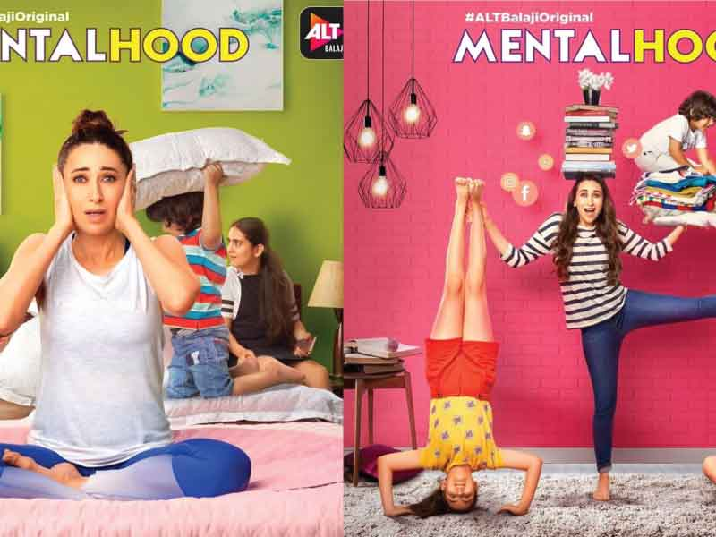 'Mentalhood' Poster: Karishma Kapoor comes back to acting through a web series.