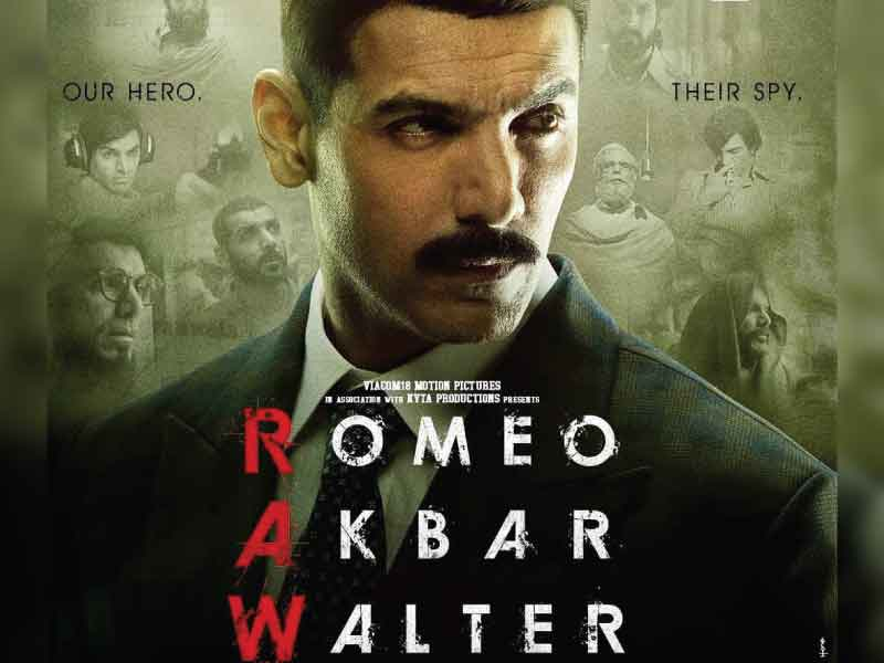'RAW' trailer: John Abraham is 'Romeo Akbar Walter', an espionage thriller about patriotism & love for the country.