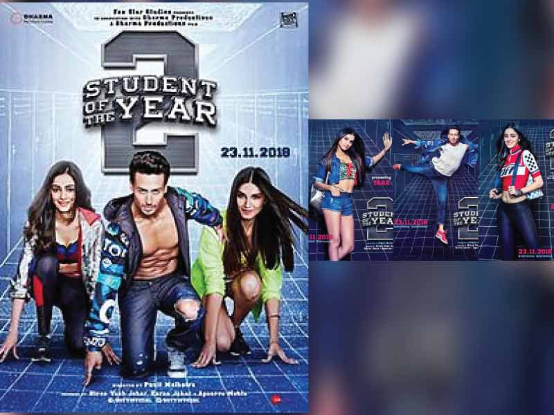 SOTY 2 Motion Posters hit the Stands