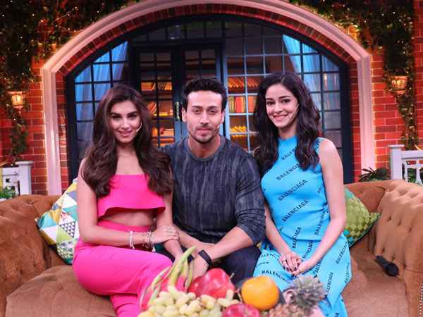 Student Of The Year 2 cast appears on The Kapil Show