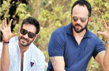 Ajay Devgan Rohitt Shetty