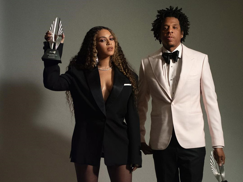 Beyonce and Jay Z won the GLAAD Media Award