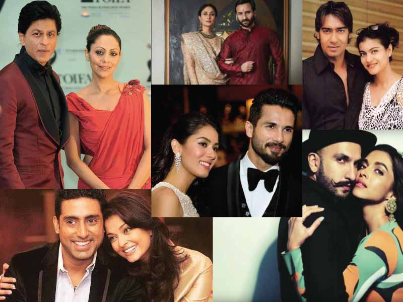 Let's drool over the most popular celebrity couples in India