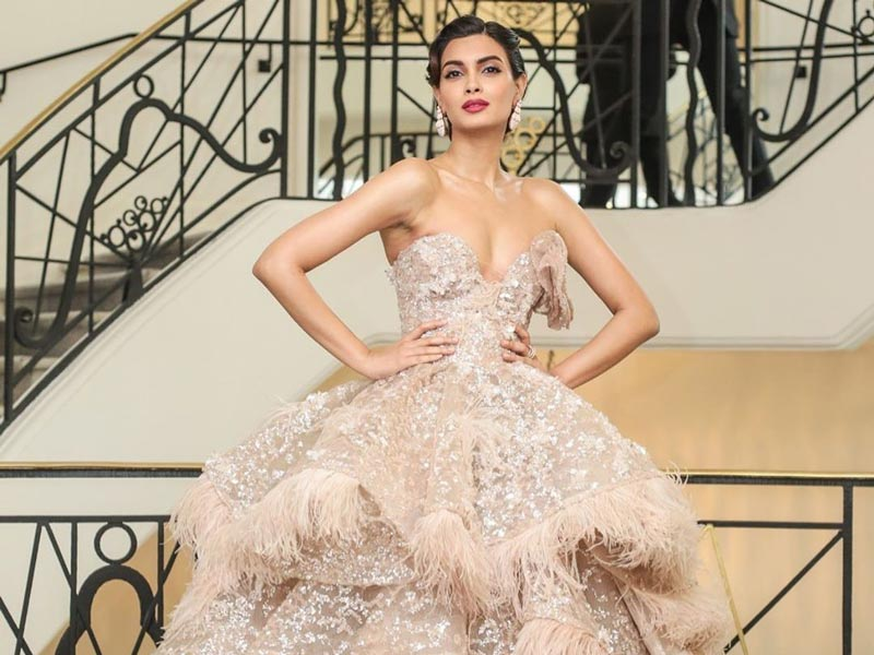 Diana Penty brings her sartorial best at the Cannes Red Carpet