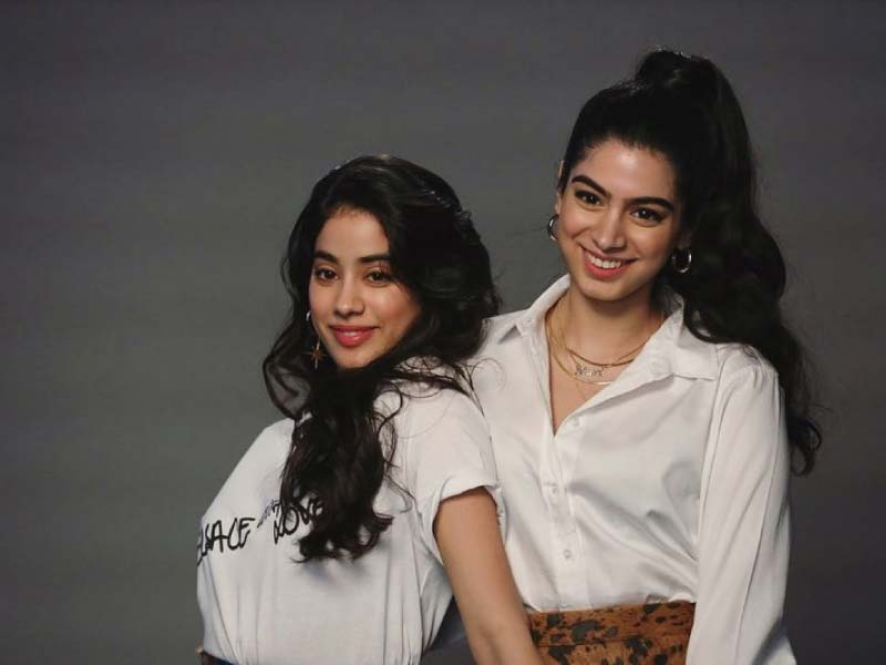 Nobody does sister goals better than Jahnvi Kapoor and Khushi Kapoor