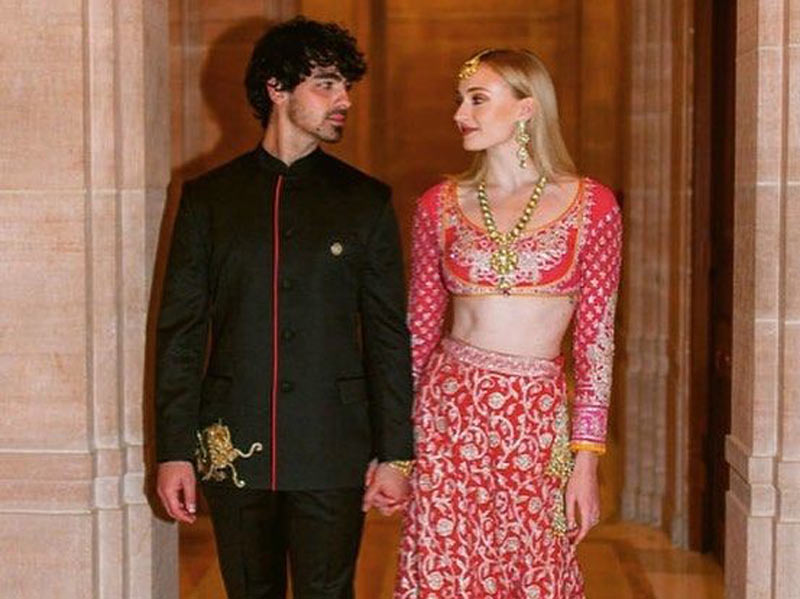 Joe Jonas and Sophie turner are the most fashionable couple there is