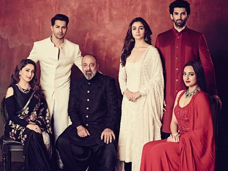 Catch up with Kalank star cast in Manish Malhotra for the trailer launch