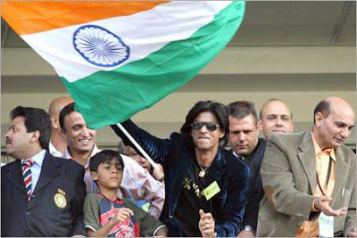 Shah Rukh Khan at 2007 World Cup South Africa